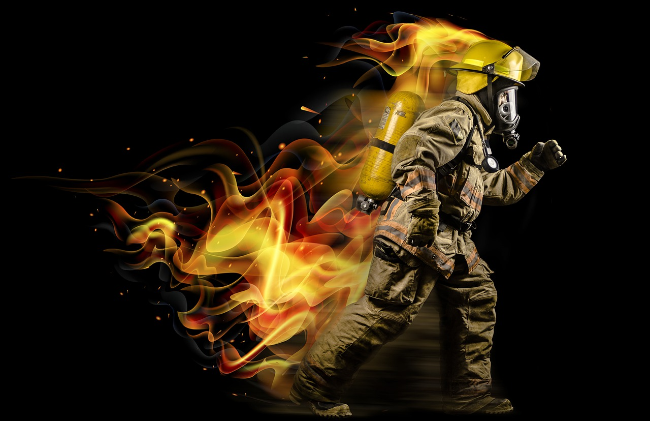 firefighterrunning